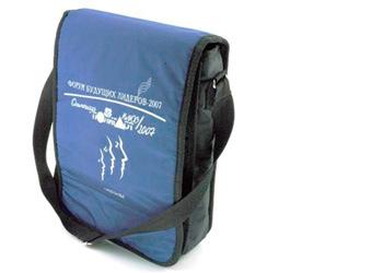 Сумка планшет под формат А4+.  Удобная Корпоративная сумка.